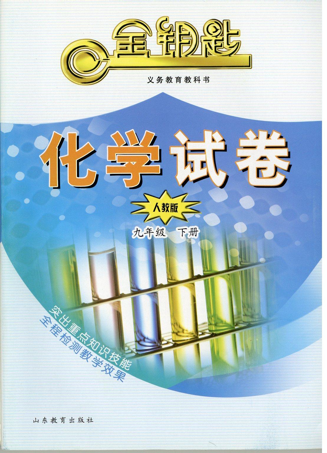 金钥匙·初中化学试卷 九年级下册 (人教版)(2017春)